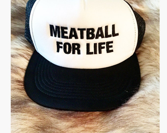 Jersey Shore Hat Meatball Hat Snooki Hat
