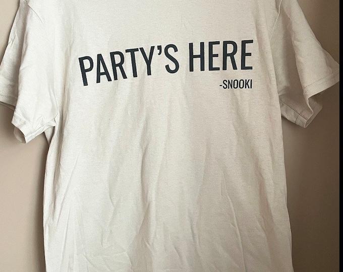 Snooki Tee Partys Here Shirt
