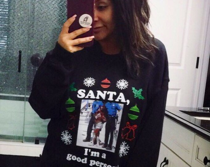 Ugly Christmas Sweater Snooki Jersey Shore