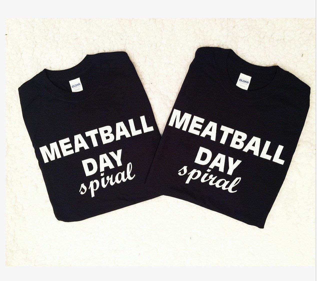 04461b3f9 Meatball Day Shirts Jersey Shore Shirts. gallery photo