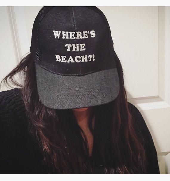 Wheres the beach Trucker Hat