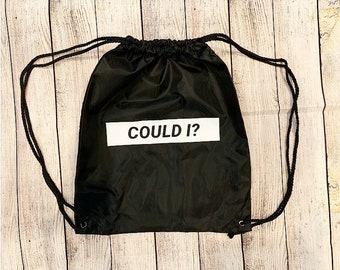 Could I Drawstring Bag