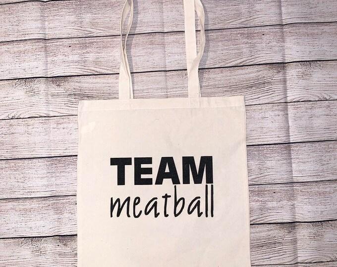Team Meatball Jersey Shore Snooki
