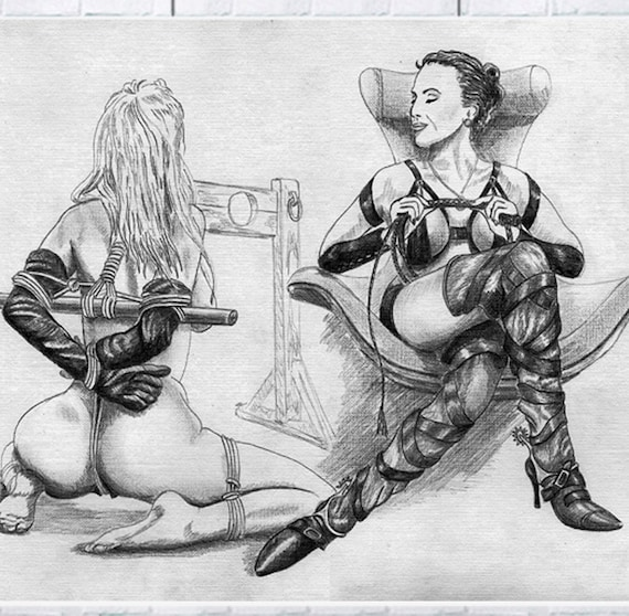 Custom bdsm drawings picture 497