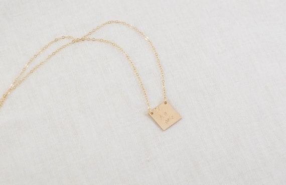 Gold element au periodic table necklace 14k gold filled etsy gold element au periodic table necklace 14k gold filled atomic number science gold symbol square hand stamped precious metal urtaz Image collections