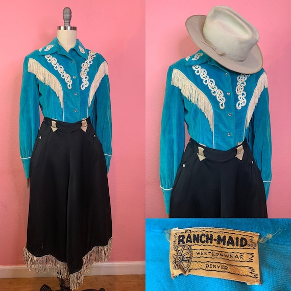 Vintage 1950s/1960s Shirt • Ranch Maid Western Wea