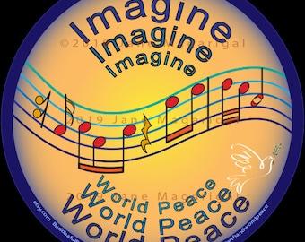 Imagine World Peace
