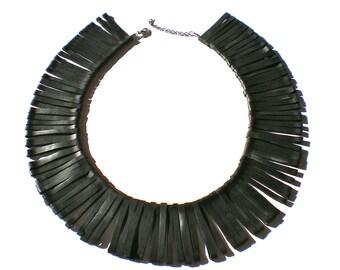 Necklace rubber inner tube, BLADE RUBBER NECK, Black