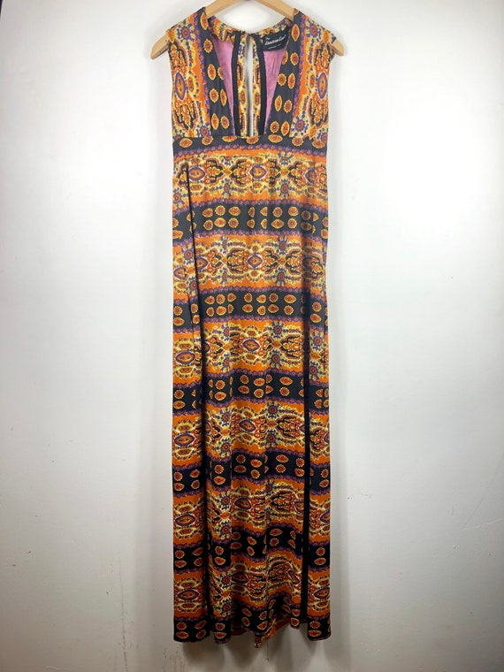Vintage psychedelic 1960s 1970s  cocktail long max