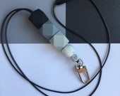 Silicone Beaded Lanyard (...
