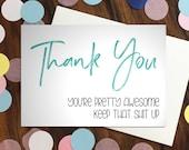 Thank You card - 'Tha...