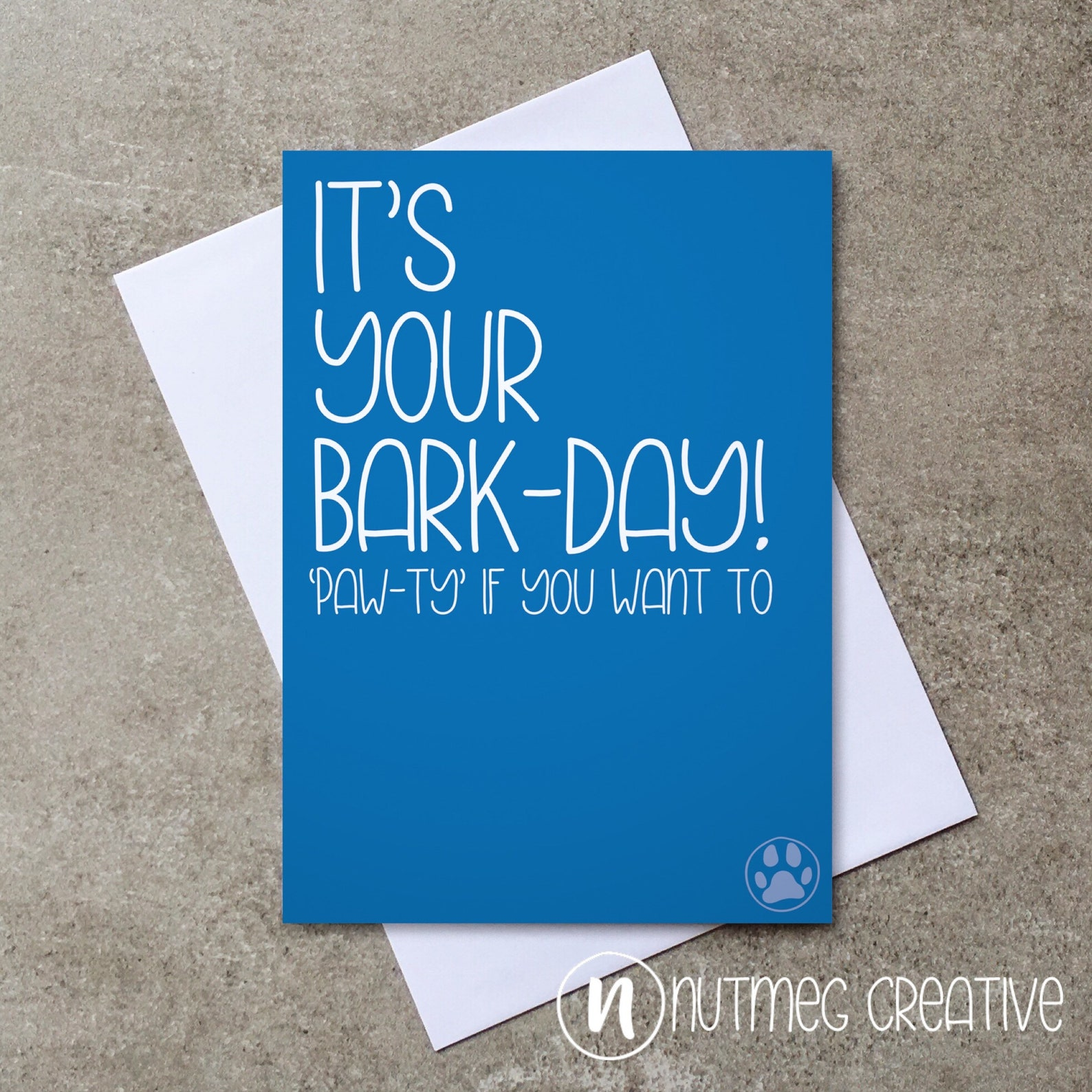 Bark-Day Card