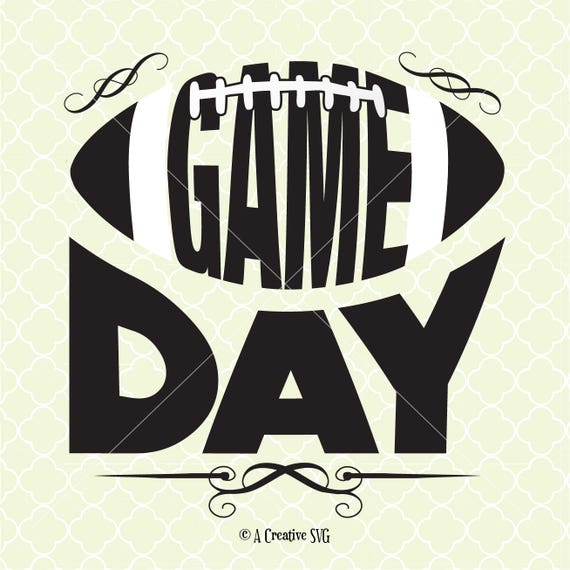 Football SVG Cut table Design,svg,dxf,png Use With Silhouette Studio /& Cricut/_Instant Download. Gameday svg #gameday svg
