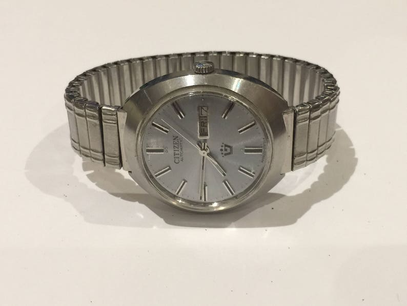 57b6d2e1a Vintage Automatic Citizen Stainless Steel Gents' Watch.   Etsy