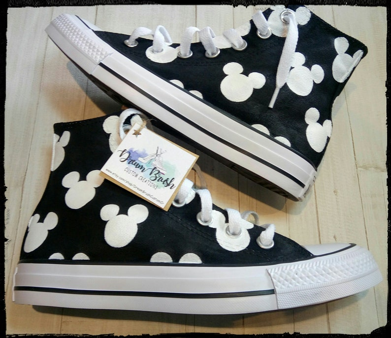f47b22861576 Disney shoes Mickey mouse shoes hand painted shoes Disney