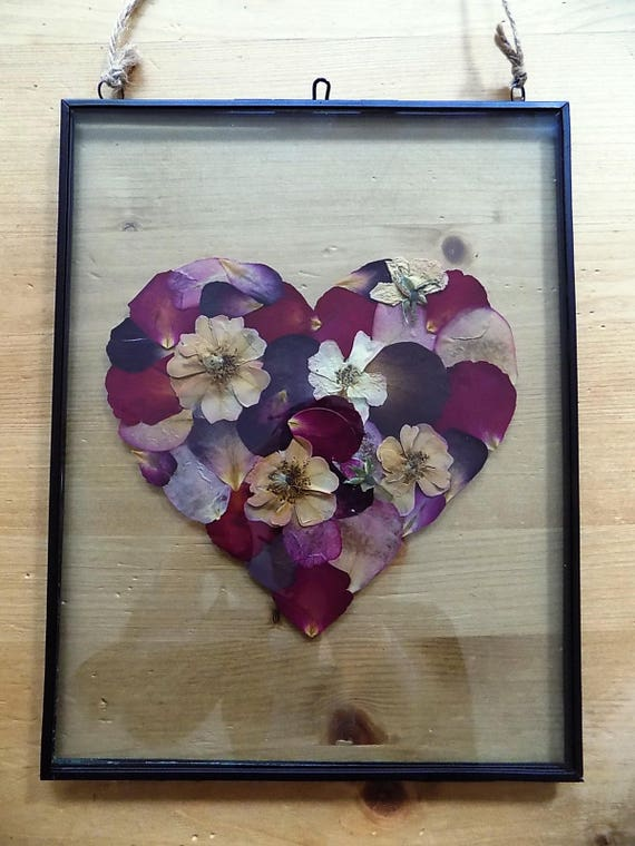 Pressed Flowers of the Heart