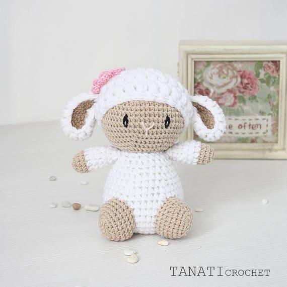 Amigurumi sheep free pattern | Amiguroom Toys | 570x570