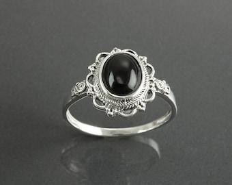 Black Stones Jewelry