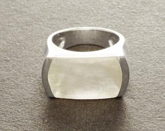 Silver Rings Modern