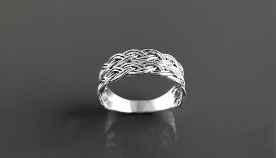 bague en argent femme anneau