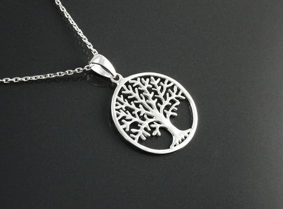 Treaty Delta Necklace with Marcazite style engraving