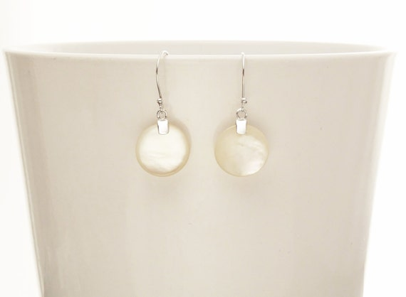 MOP, Silver, Earrings, White Mop, Mother of Pearl, Design earrings, Minimalist, Everyday, Women, News, Fashion, Silver Jewelry, silver Gift
