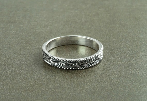 Silberring Ring 925 Sterling SILBER silver Design bague anello argent Band plata