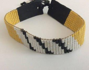 Miyuki delica beads.