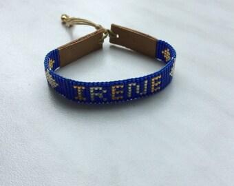 Miyuki Delica name Bracelet!