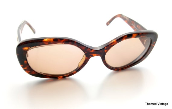 00a3b79f69 Vintage tortoise shell eyeglasses rx prescription eyewear