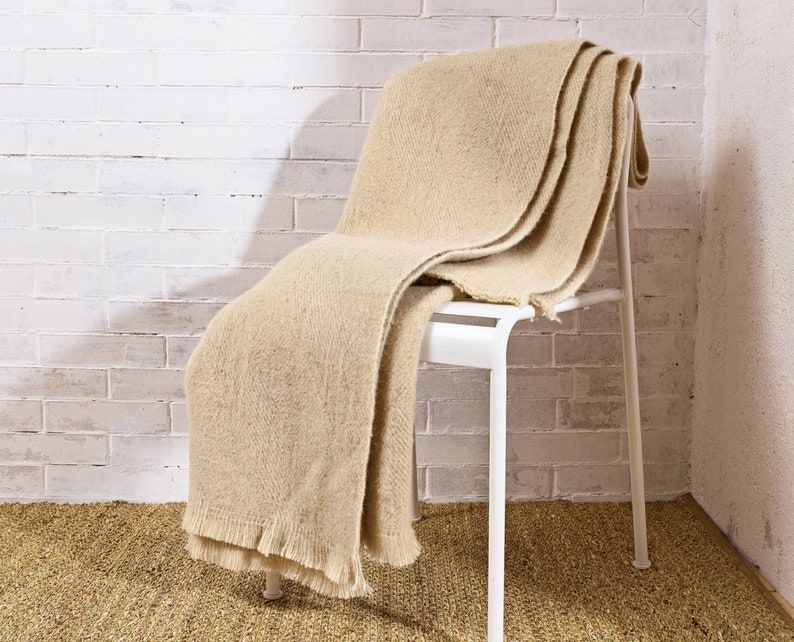 815b0874773 Heavy Wool Blanket   Sizes Available   100% Sheep Wool
