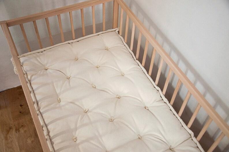 Wool Filled Crib Mattress / Non toxic Chemical free / | Etsy