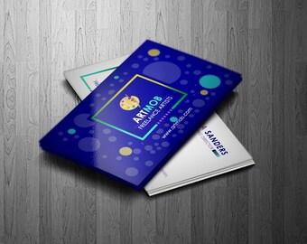 Business Card Template - Artist Business Card Template - Art Mob