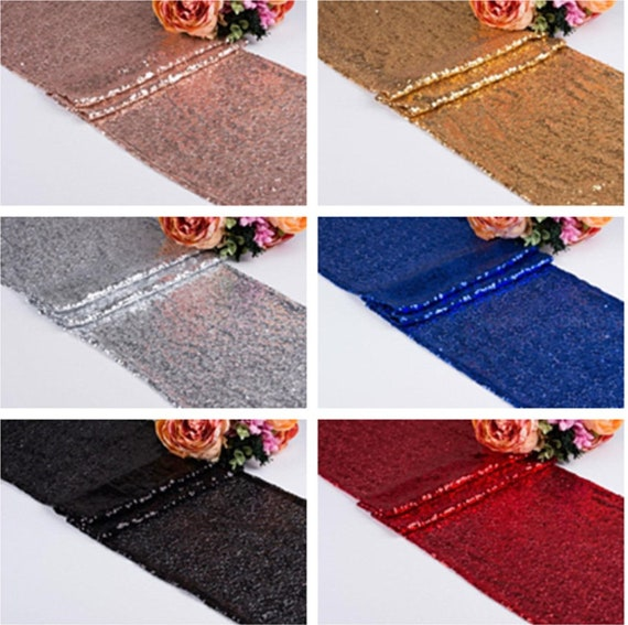 silver Glitter Sequin Tablecloth Wedding Engagement Reception Party Decoration