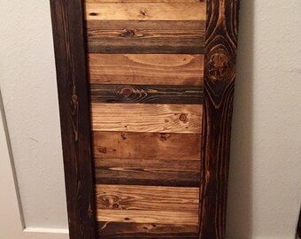 Rustic Wood Custom Kitchen/Bathroom Cabinet Doors