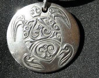 Turtle in Sterling Silver