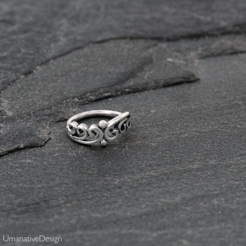 Sterling Siver Nose Hoop Nose Piercing,Nose Jewelry Indian Nose Ring Silver Nose Ring Tribal Nose Ring Tiny Nose Ring