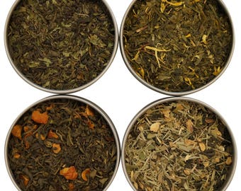 Heavenly Tea Leaves Flavored Green Tea Sampler, 4 Count