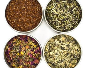 Heavenly Tea Leaves Organic Morning Lift Tea Sampler, 4 Count