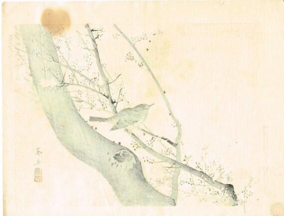 1892 Matsumura Keibun antique Japanese Woodblock print 1