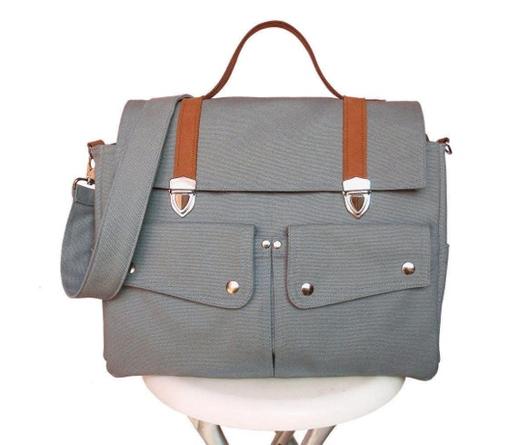 a3e7355604 Gray Messenger Bags Handbags Bags Purses School Bags Canvas