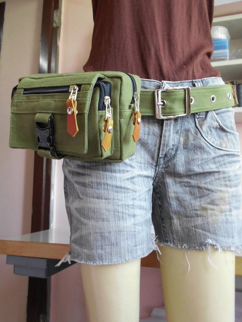 Dark olive green belt bagfanny packHip Bagbelt bagbum bagfanny pack festivalcrossbody bagwaist bagfestival fanny packBUY2GET1FREE