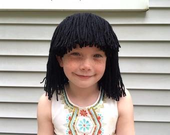 Bob wig, Costume wig, Girls Halloween costume, Womens costume,Flapper costume, Kids wigs, Costume Hair, Pretend Play, Dress up Hair
