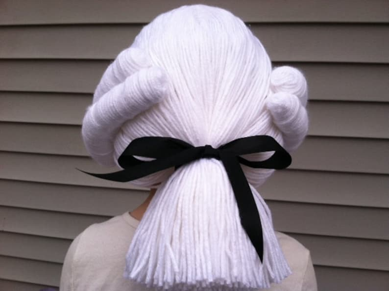 George Washington wig historical costumes colonial costume  d41ef0371