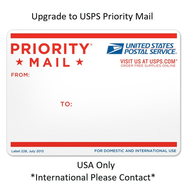 Upgrade Your Shipping to USPS Priority Mail image 0
