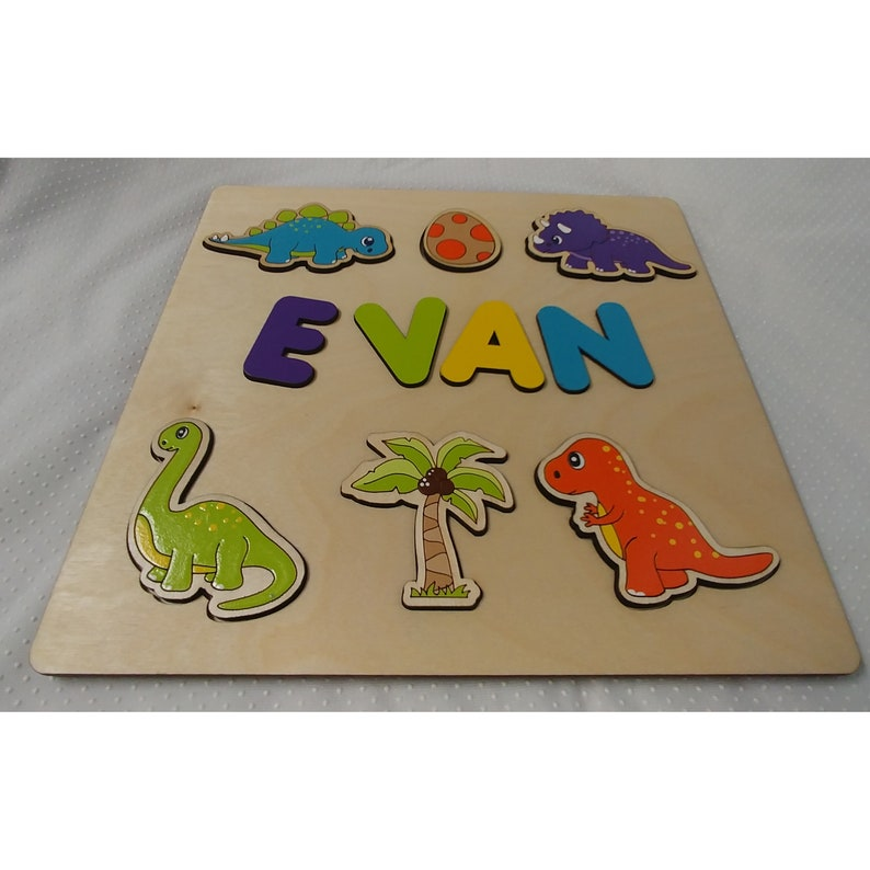 decorative play mat.htm wooden name puzzle baby toy gift for boy etsy  wooden name puzzle baby toy gift for