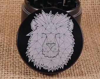 Lion Pride - Laser Engraved Herb Grinder