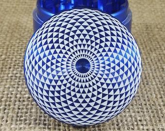 Eye Geometry – Laser Engraved Herb Grinder