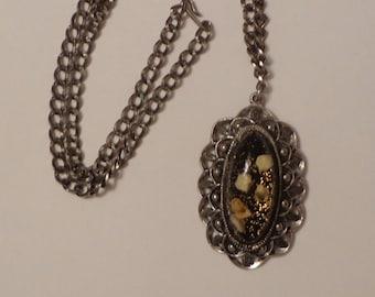 Vintage Pendant Necklace circa 1950s