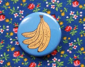 Blue Bananas Button